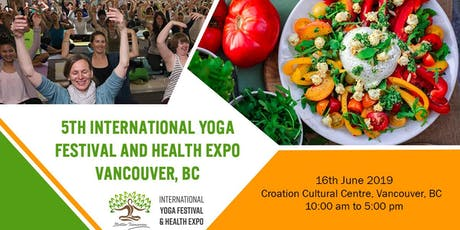 5th International Yoga Festival and Health Expo 2019 tickets