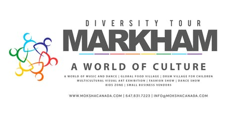 MARKHAM DIVERSITY FESTIVAL 2019 tickets
