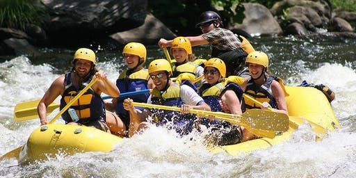 Whitewater Rafting Group Trip