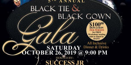 "Black Tie&Black Gown ""Lets Break The Silence""Gala tickets"
