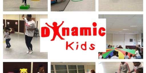 Dynamic Kids- Get Physical(2-5yrs) & Magical Music (0-2yrs)