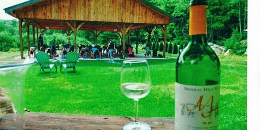 Yoga and Wine Tasting at Mineral Hills Winery