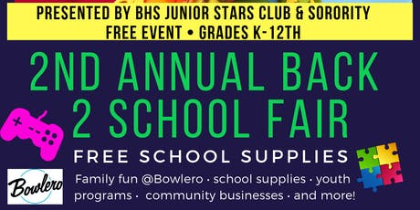 Junior Stars Back to School Fair tickets