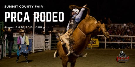 PRCA Rodeo - Friday, August 9th 2019 tickets