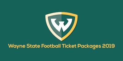 2019 Wayne State University Football Season Tickets