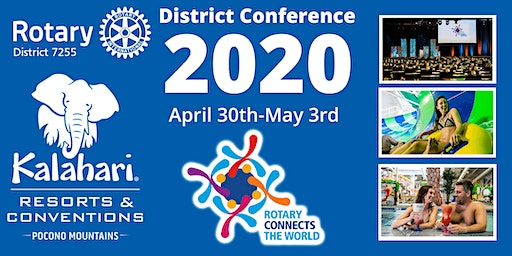 RD7255 District Conference 2020