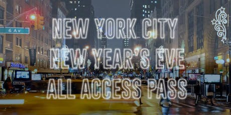 New York City All Access Pub Crawl Party Pass NYE 2020 tickets