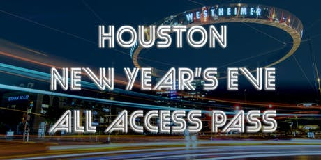 Houston All Access Pub Crawl Party Pass New Year's Eve 2020 tickets