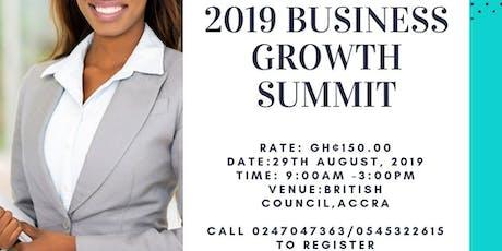 2019 Business Growth Summit tickets