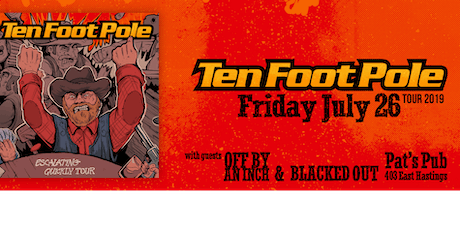Ten foot Pole - Off By an Inch - Blacked Out tickets