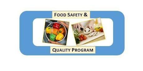 Fort Pierce, FL SafeStaff Foodhandler Training Program tickets