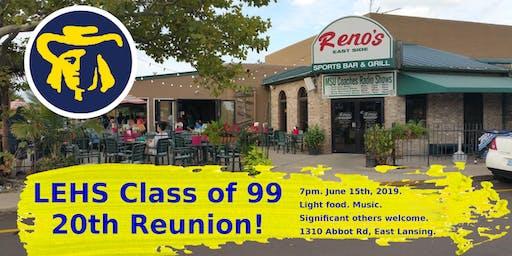 Lansing Eastern Class of 99's 20th Reunion