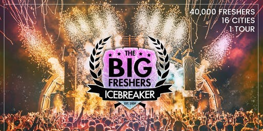 The Big Freshers Icebreaker - Manchester - Official University Event