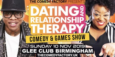 Dating and Relationship Therapy Comedy Show (BIRMINGHAM) tickets