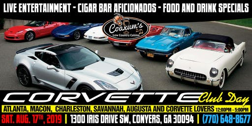 Corvette Club Day @ Coaxum's Low Country Cuisine