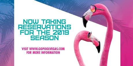Swimdustry Wednesdays at Flamingo GO Pool - FREE GUESTLIST tickets