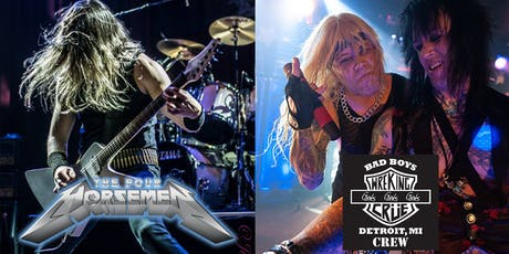 Metal Night - The Four Horsemen & The Wrecking Crue tickets
