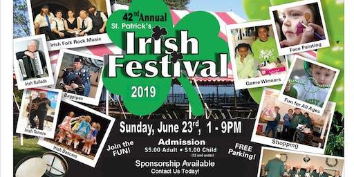 42nd Annual St. Patrick's Senior Center Irish Festival
