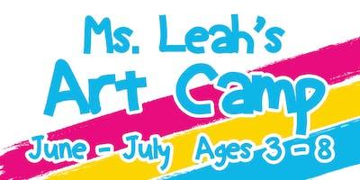 Ms. Leah's Art Camp