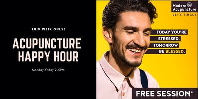 Acupuncture Happy Hour is Back!