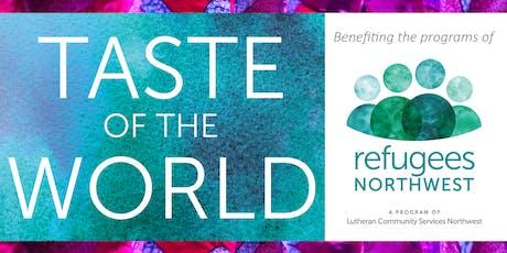Taste of the World 2019 tickets