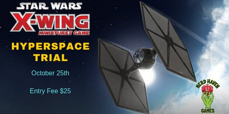 Star Wars X-Wing™ Hyperspace Trial tickets