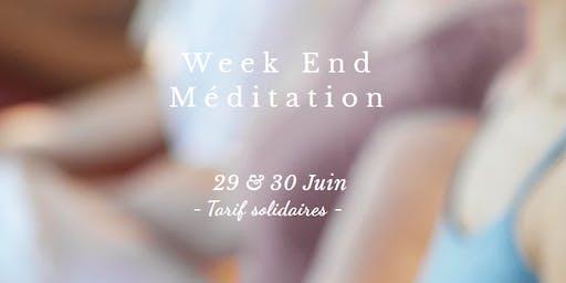 Week End Méditation   TOULOUSE (Secteur Colomiers) 29/30 Juin
