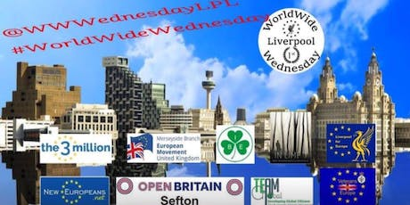 World Wide Wednesday, Regeneration, Settled Status and a Peoples Vote. tickets