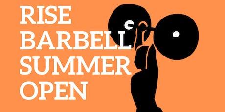 Rise Barbell Summer Open tickets