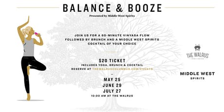 July Balance & Booze with Middle West Spirits tickets