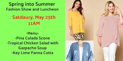 Spring into Summer Fashion Show and High Tea