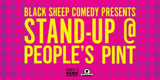 Black Sheep Comedy's Stand Up @ People's Pint, June Edition