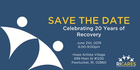 RICARES: Celebrating 20 Years of Recovery tickets