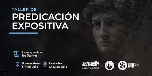 Taller Predicación Expositiva | Simeon Trust  2019 Buenos Aires