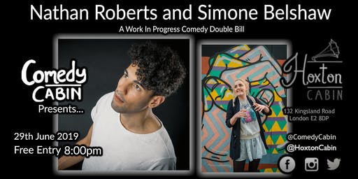 Comedy Cabin Presents: Nathan Roberts and Simone Belshaw
