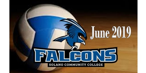 2019 SOLANO FALCONS VOLLEYBALL CAMP (JUNE)