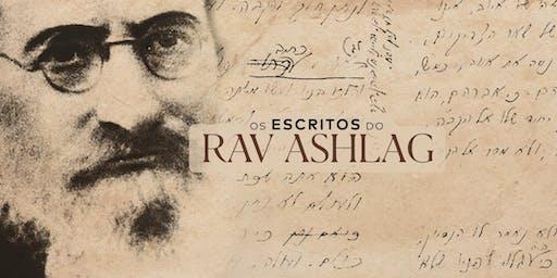 Escritos do Rav Ashlag | SP
