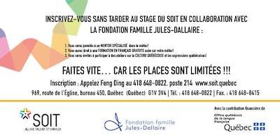 Connexion à la Voix de l'Emploi - Le français, au coeur de nos ambitions!