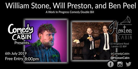 Comedy Cabin Presents: William Stone, Will Preston, and Ben Peel tickets
