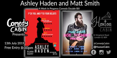 Comedy Cabin Presents: Ashley Haden and Matt Smith tickets