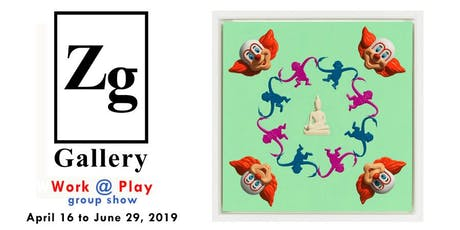 Zg Gallery: Work @ Play, group show tickets