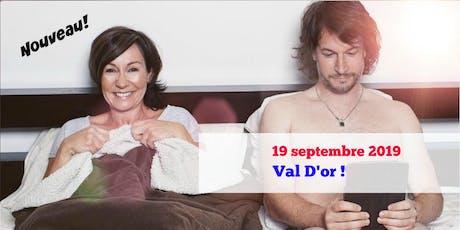 Le Couple! VAL D'OR 19 septembre 2019 Josée Boudreault billets