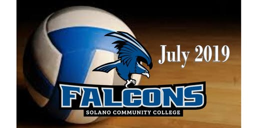 2019 SOLANO FALCONS VOLLEYBALL CAMP (JULY)