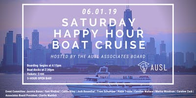 AUSL's Associates Board Happy Hour Boat Cruise