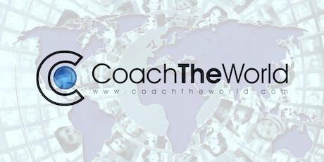 Coach The World Meetup Manchester tickets