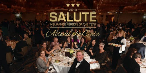 2019 Insurance Person of the year Gala