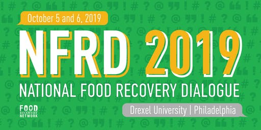 National Food Recovery Dialogue 2019