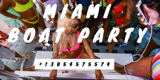 #Miami Beach all inclusive Boat Party + Jet Ski + Banana Boat