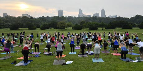 Summer Solstice Sunrise Yoga at Dix Park tickets