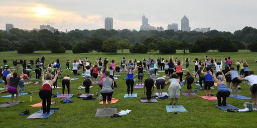 Summer Solstice Sunrise Yoga at Dix Park